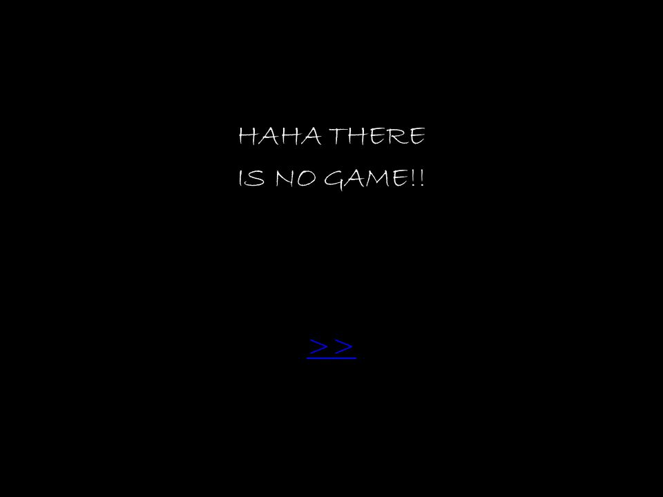 HAHA THERE IS NO GAME!! >>
