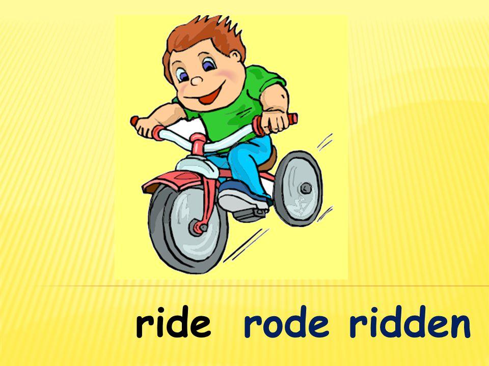 riderode ridden