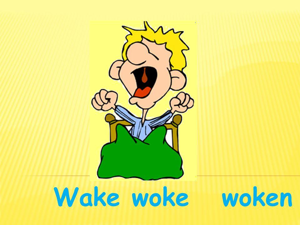 Wakewoke woken