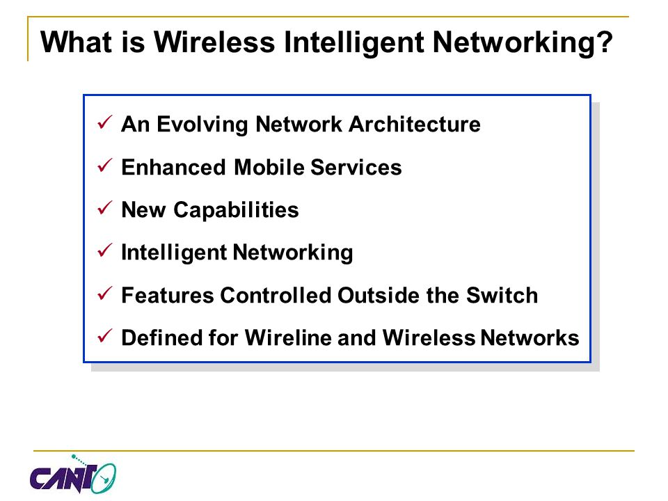 Intelligent Network Architecture The Signaling Network SCP Intelligent Peripheral Service Creation STP Translations Routes GTT Links LSL, HSL, IP Monitor Signaling Traffic Interconnection Issues Gateway Screening HLR VLR MSC VLR MSC STP