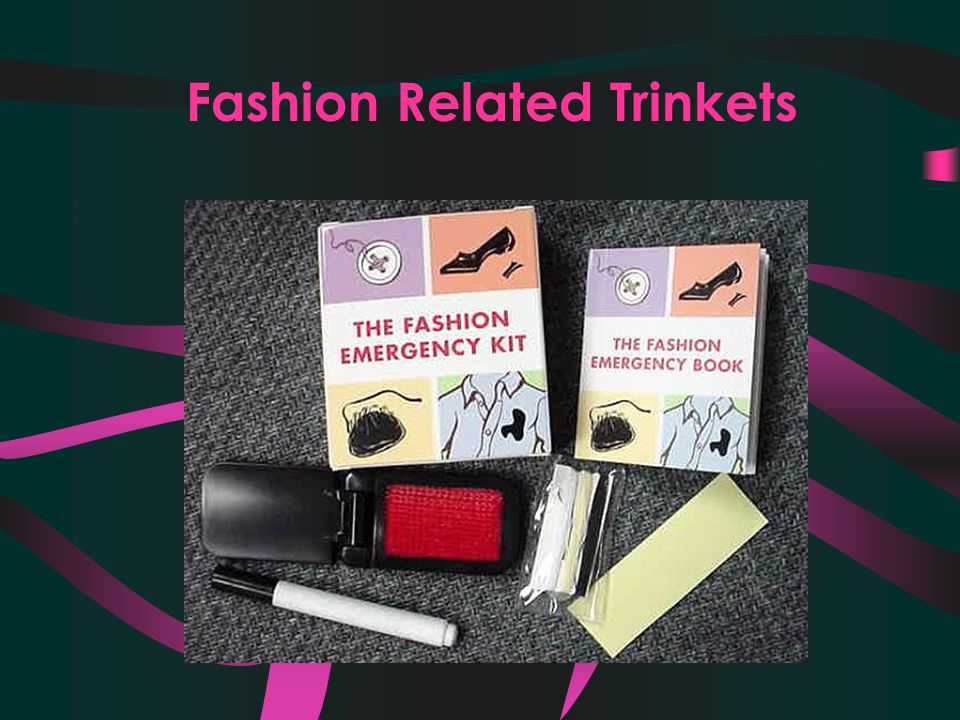 Fashion Related Trinkets
