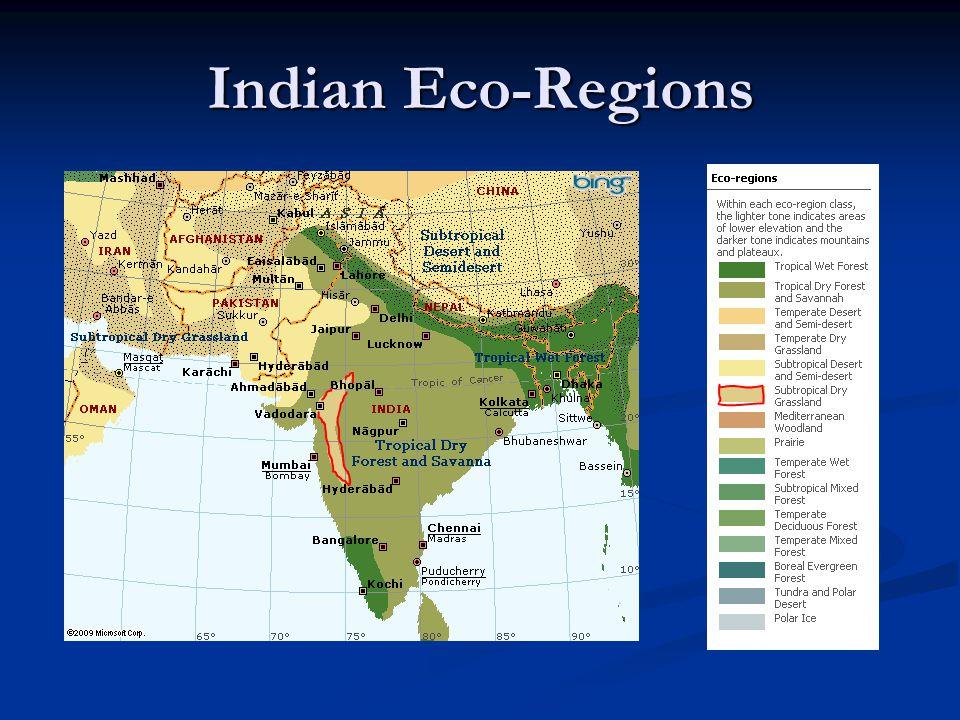 Indian Eco-Regions