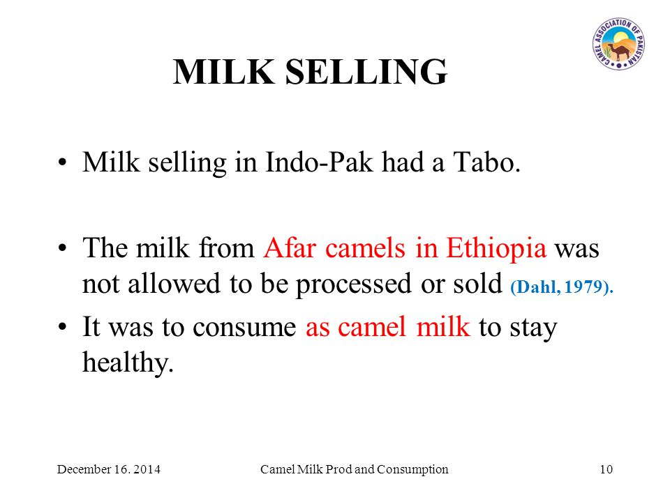 MILK SELLING Milk selling in Indo-Pak had a Tabo.