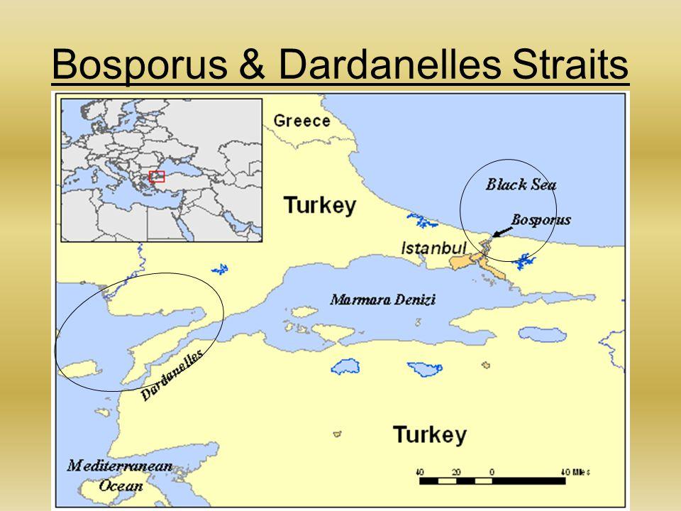 Bosporus & Dardanelles Straits