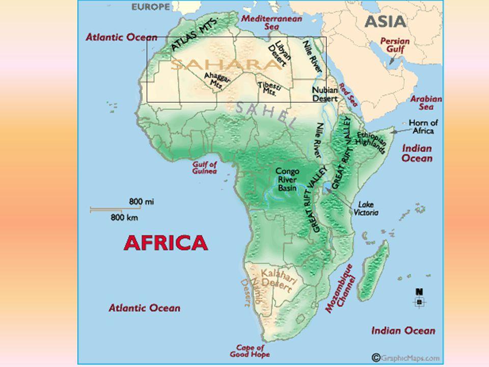 Sahara AAverages less than five inches of rain each year.