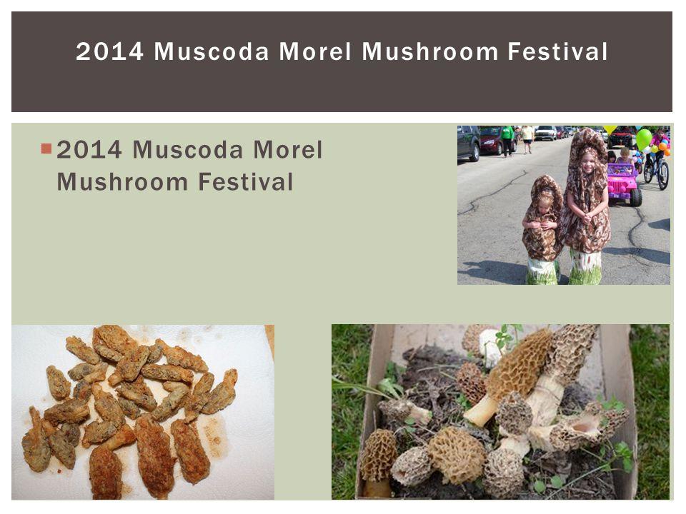 2014 Muscoda Morel Mushroom Festival  2014 Muscoda Morel Mushroom Festival