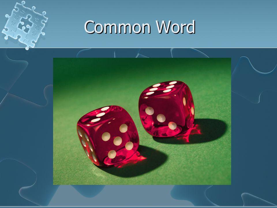 Common Word