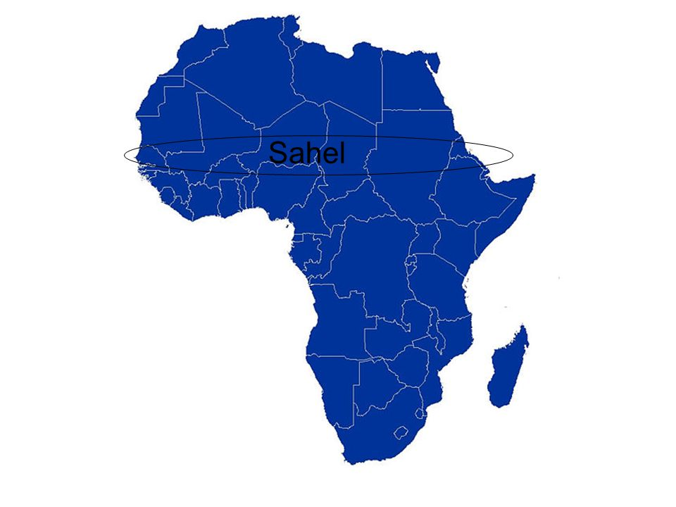 Living in the Sahel Sahel means border or region Life on the Sahel is difficult and precarious (risky).
