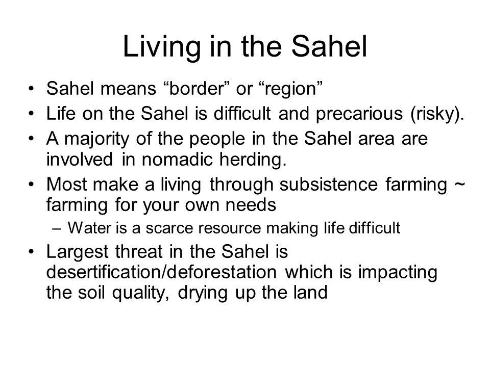 Sahara Sahel Rainforest Savanna