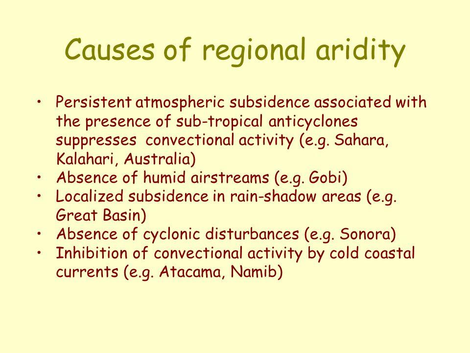 The elements of anthropogenic desertification