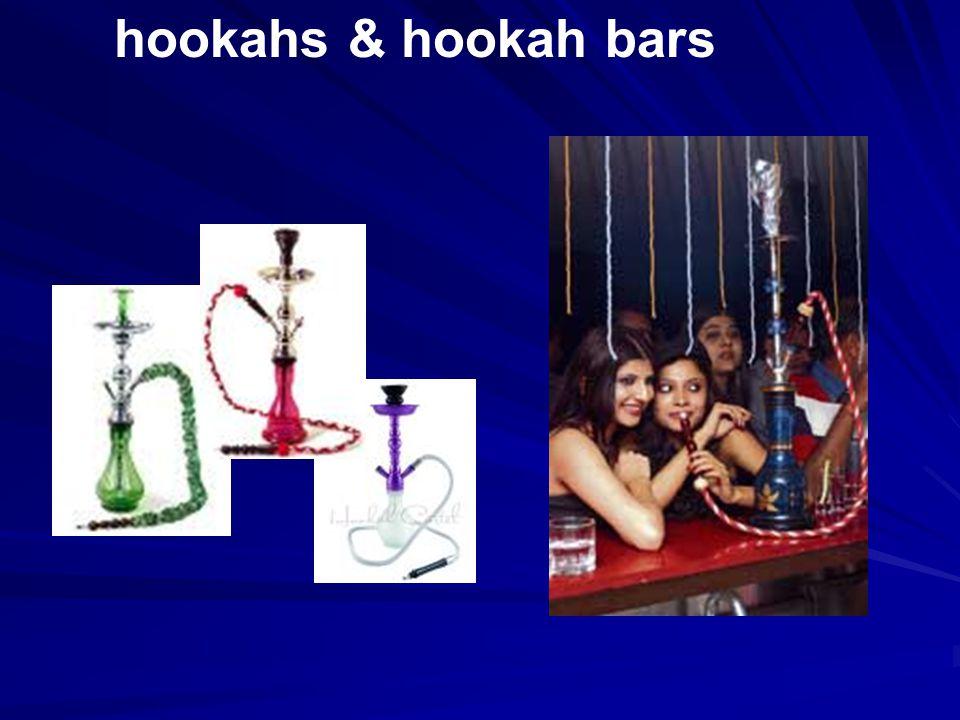 hookahs & hookah bars