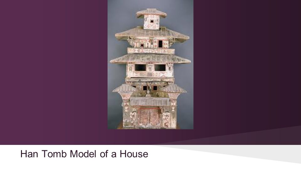 Han Tomb Model of a House