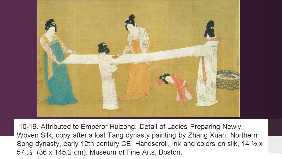 10-19. Attributed to Emperor Huizong.