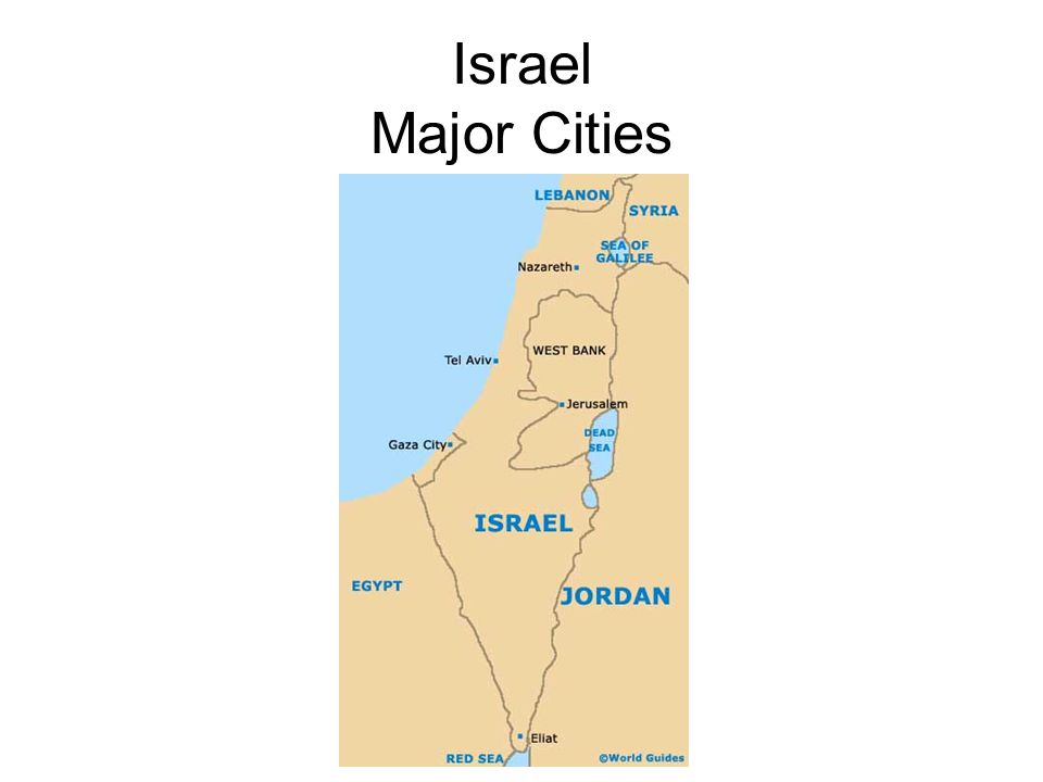 Israel Major Cities