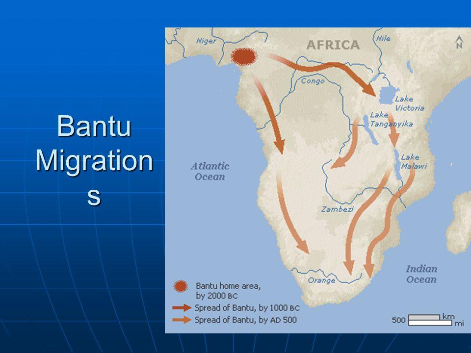 Bantu Migration s