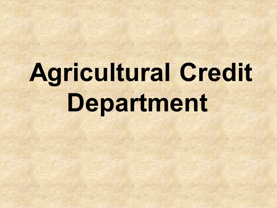 Established under Section 8(3) of SBP Act 1956, is mainly responsible to meet credit needs of agriculture that being the mainstay of Pakistan's economy generates nearly one fourth of the total out put and 44% of total employment and is the major source of foreign exchange earning.