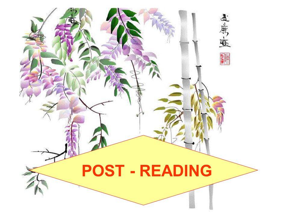 POST - READING