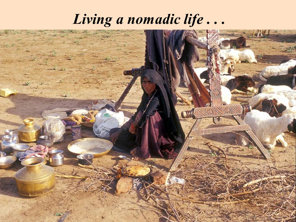 Living a nomadic life...