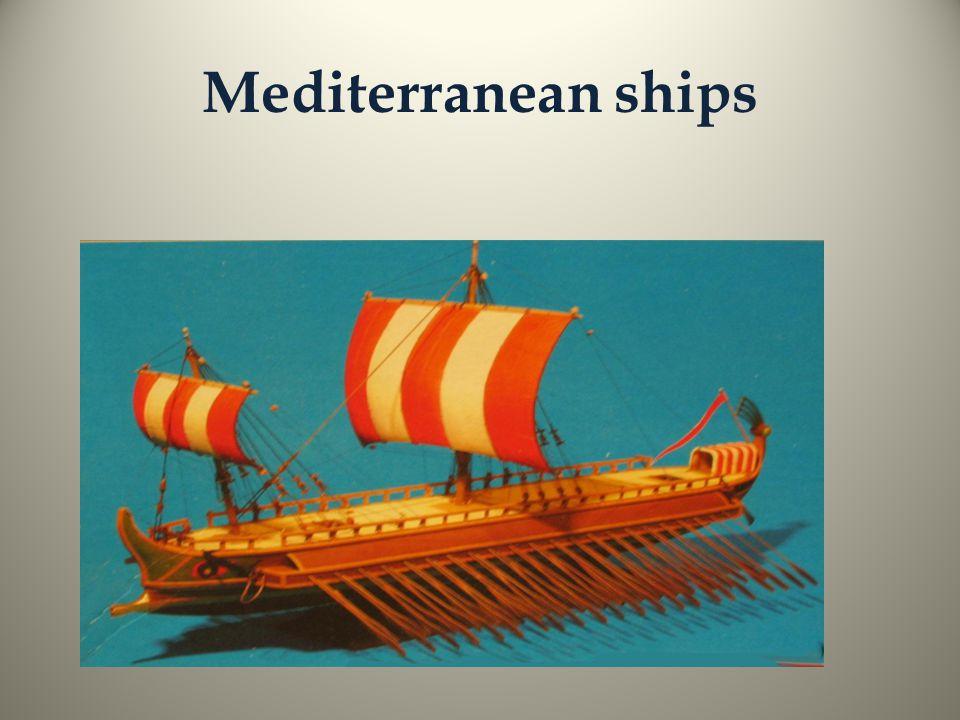 Mediterranean ships