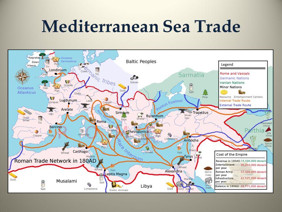 Mediterranean Sea Trade