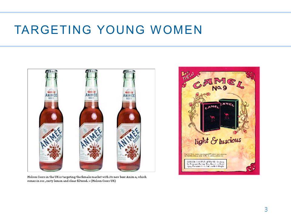3 TARGETING YOUNG WOMEN