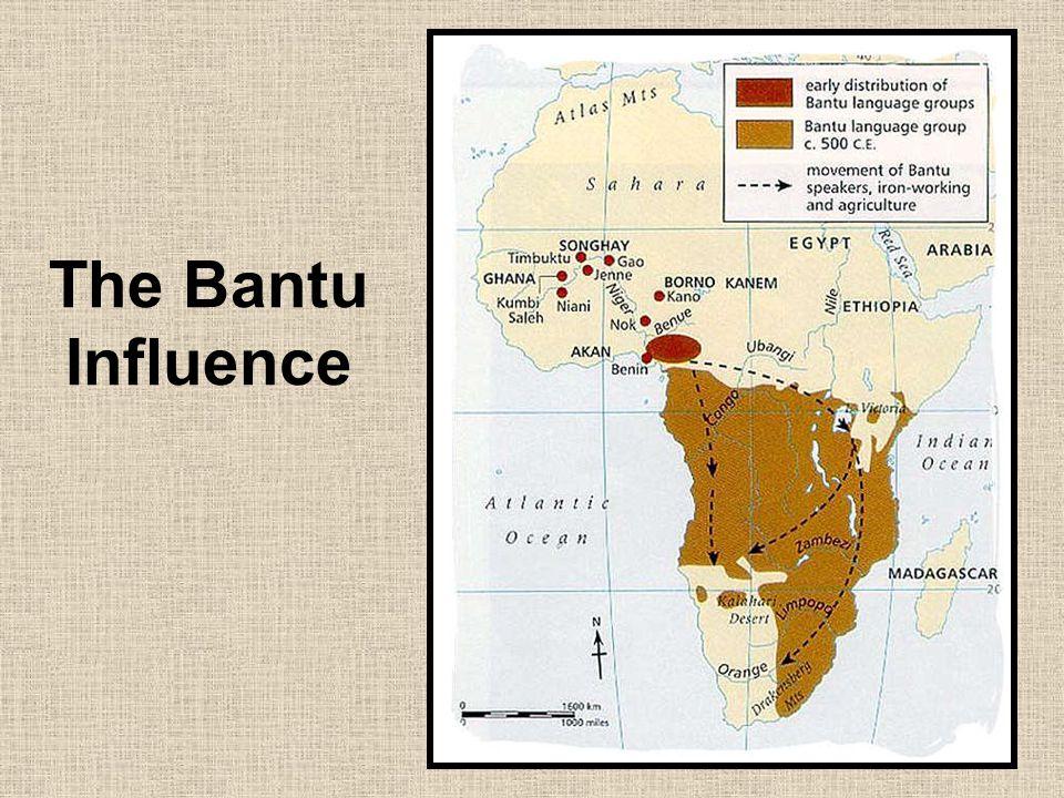 The Bantu Influence