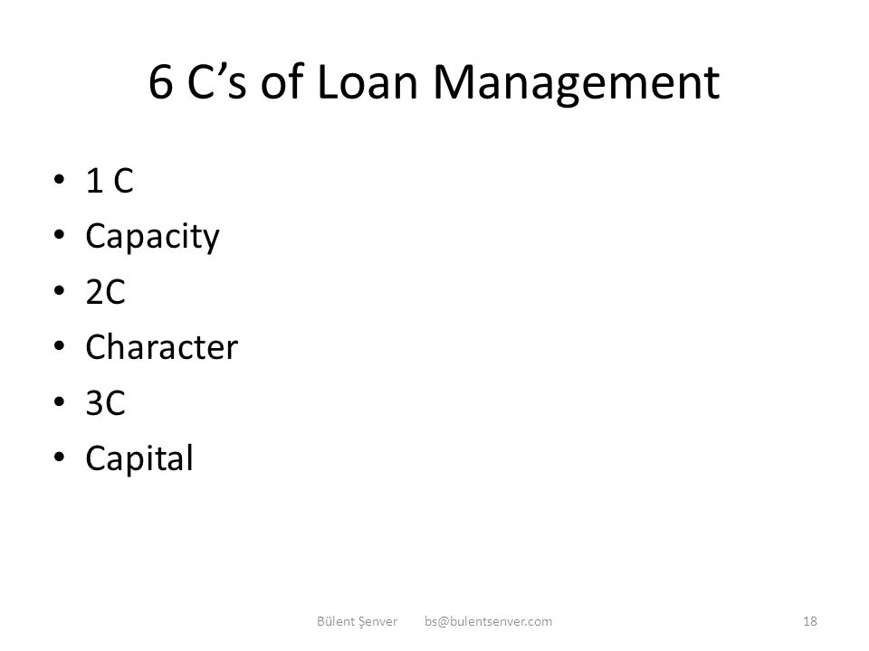 Loan Management-Loan Types Security type: -Secured Loans -Unsecured Loans Risk type: -Cash Loans (shown on balance sheet) -Non-Cash Loans (shown as off balance sheet item) e.g.