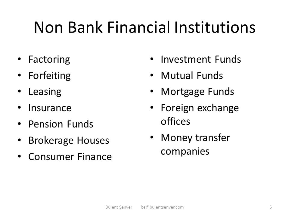 Types of Banks Commercial Banks Investment Banks Merchant Banks Islamic Banks (participation banks) Development Banks Off Shore Banks Special Purpose