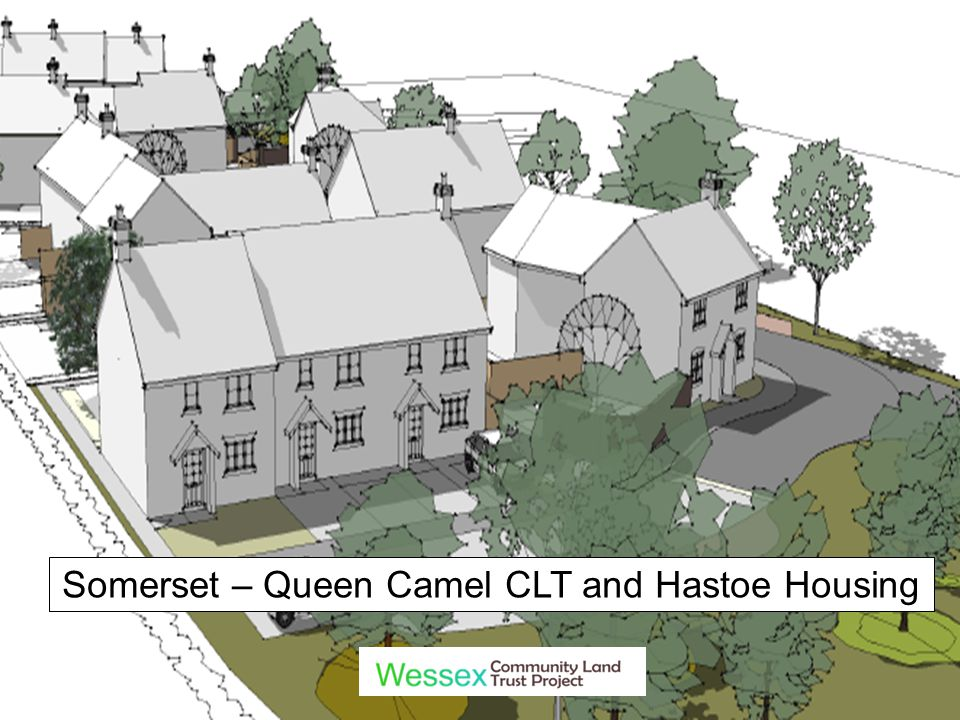 Somerset – Queen Camel CLT and Hastoe Housing