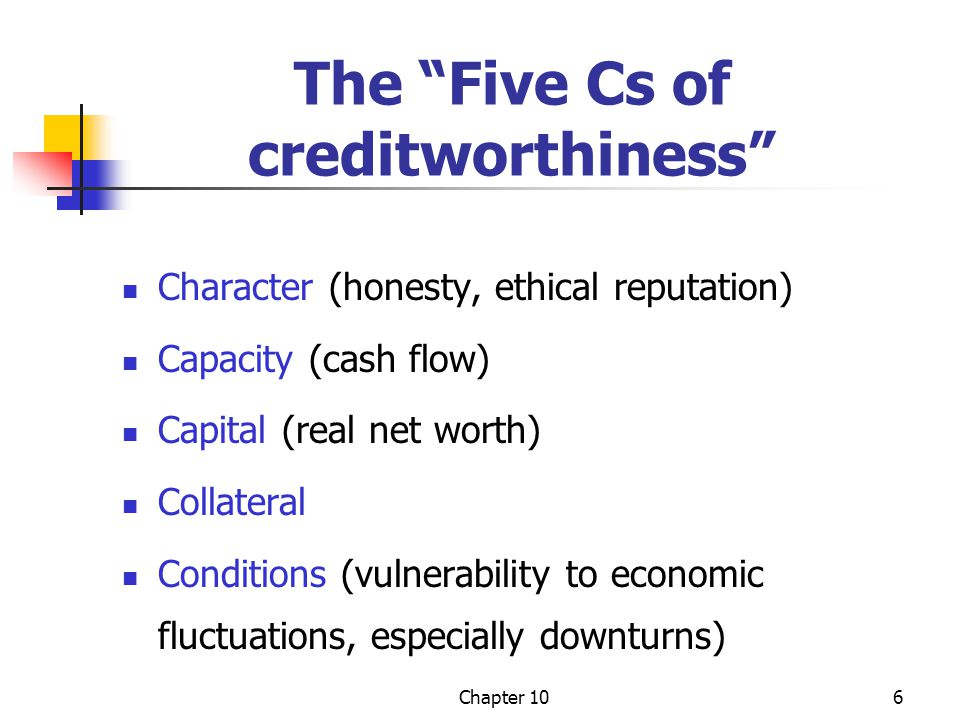 Chapter 1017 Credit Analysis Credit analysis is the evaluation of the financial history and financial statements of credit applicants, designed to assess creditworthiness.