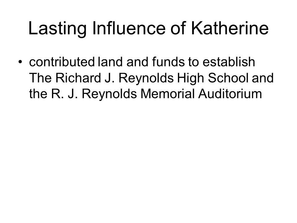 The Children Richard Joshua Reynolds, Jr.