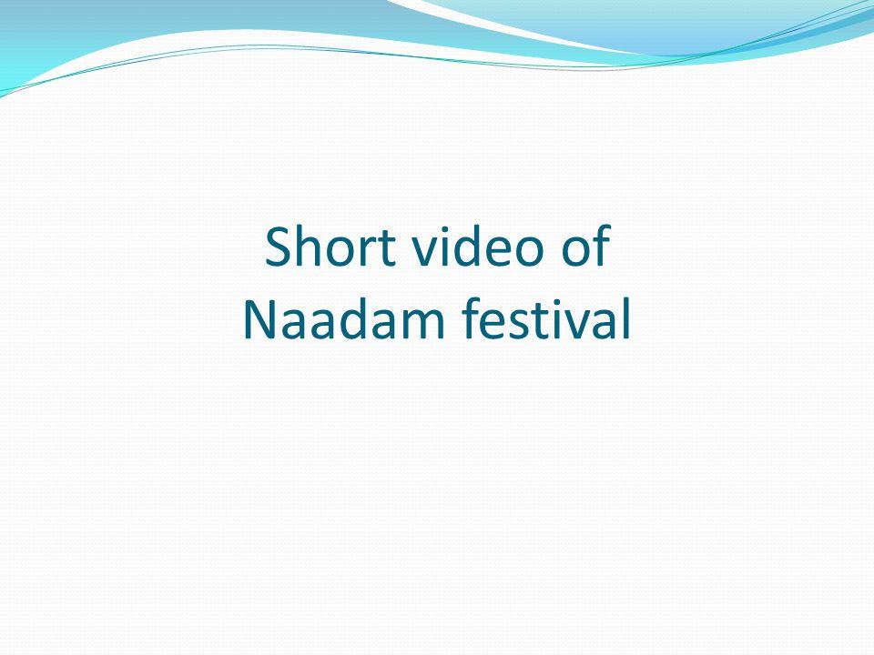 Short video of Naadam festival