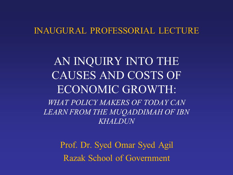 INTRODUCTION Economic growth has been a subject of debate and controversy in the history of western economics.