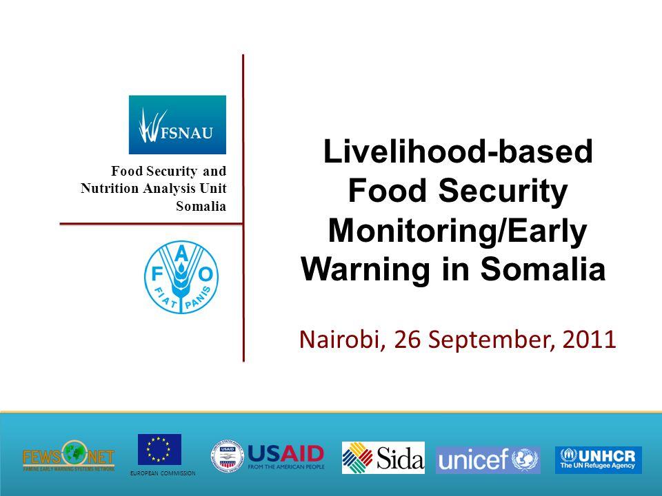 Food Security Outcomes 22 Food Security Outcomes (Aug – Sep '11)Projected Food Security Outcomes (Oct-Dec '11)