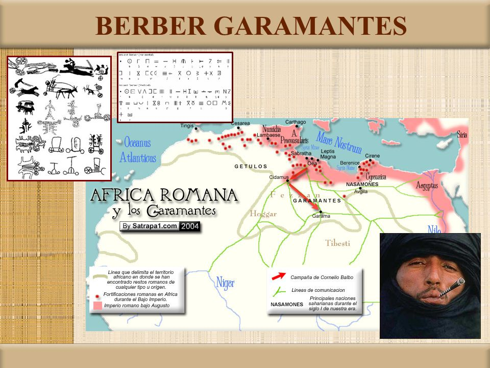 BERBER GARAMANTES