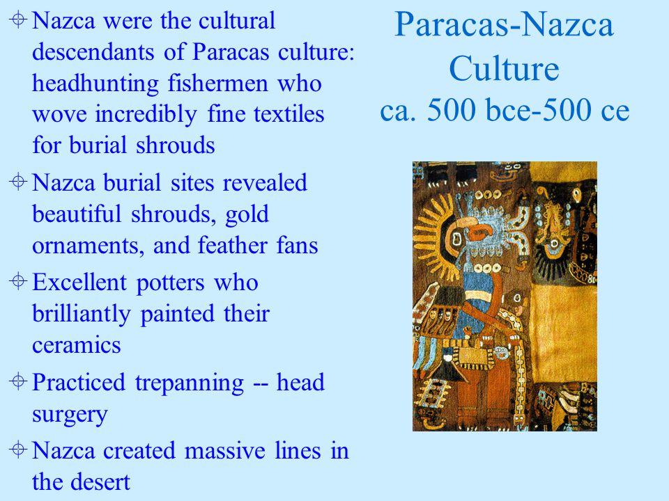 Paracas-Nazca Culture ca.
