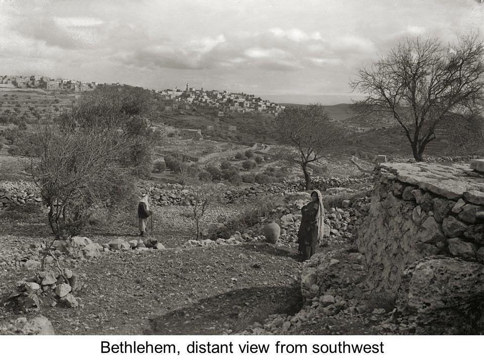 Bethlehem, general view from southwest