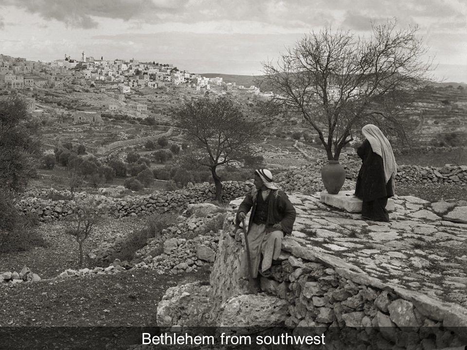 Caravan route to Bethlehem, suggestive of wise men
