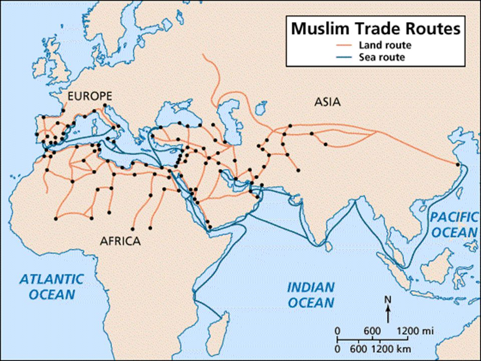 Spread of Islam Following the death of Mohamed … Islam experienced rapid expansion in Afro Eurasia Muslim armies marched across WE until they were defeated in France, Battle of Tours, 732 By the 1400's, Muslim Empire extended from Spain to India