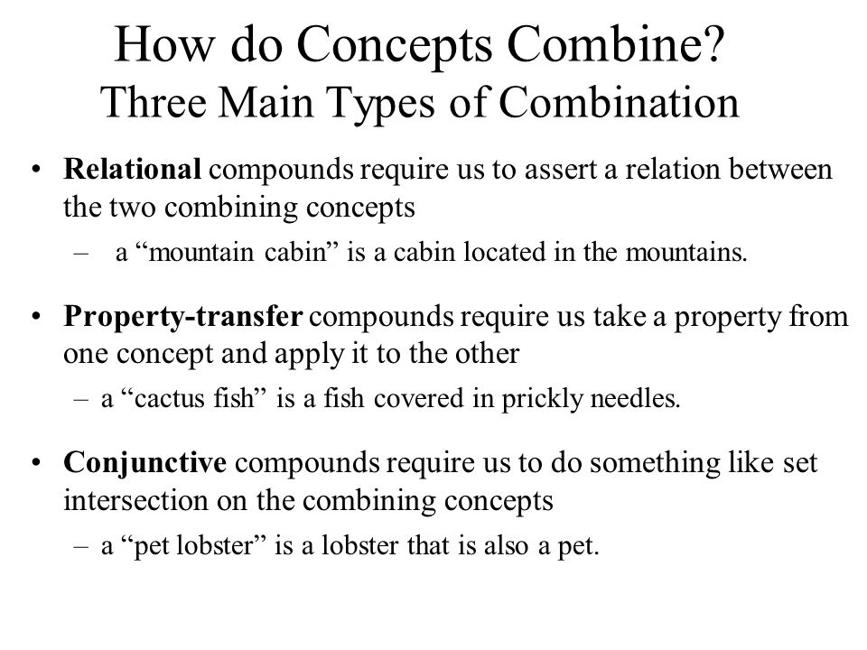 How do Concepts Combine.