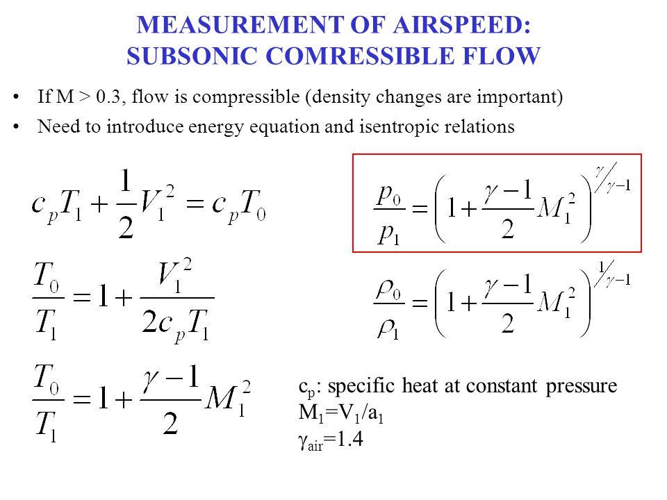 TRENDS: EXPANSION M 1 < 1 M 1 > 1 V 2 < V 1 V 2 > V 1 1: INLET 2: OUTLET