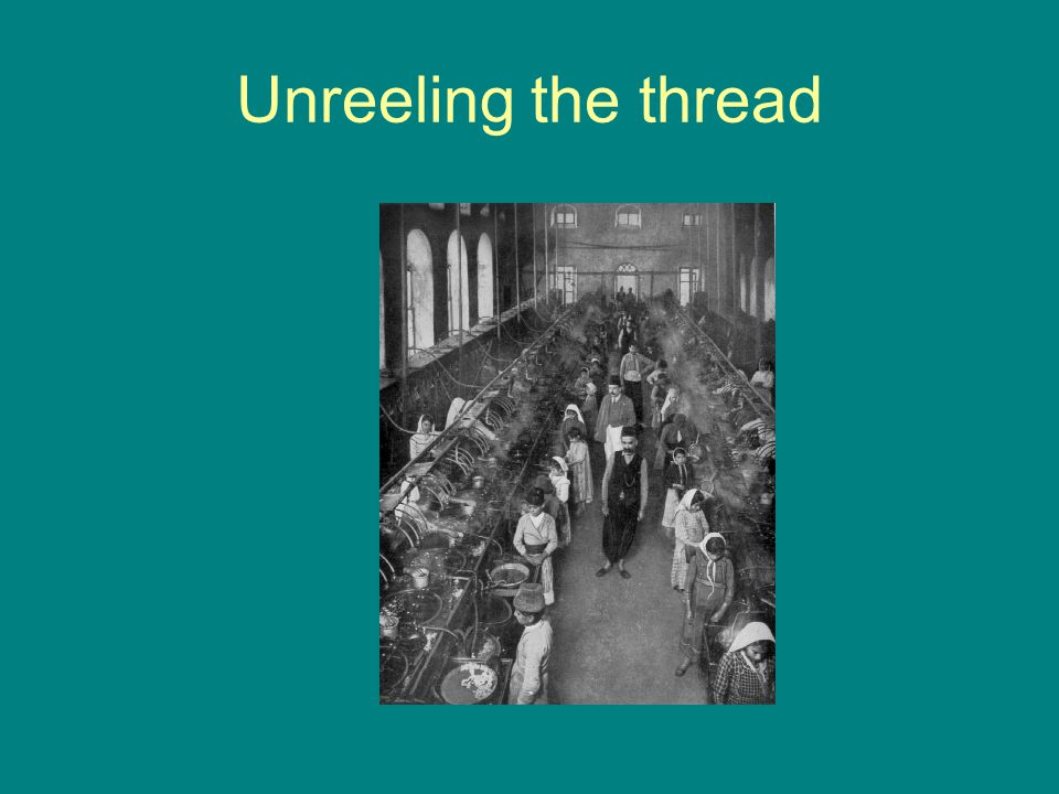 Unreeling the thread