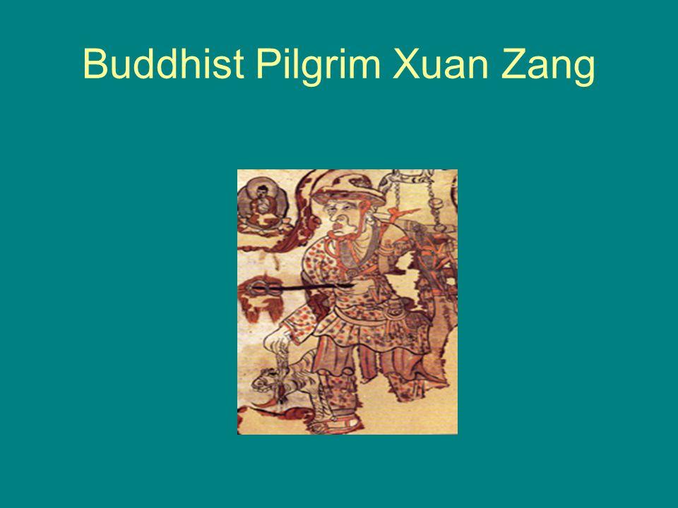 Buddhist Pilgrim Xuan Zang