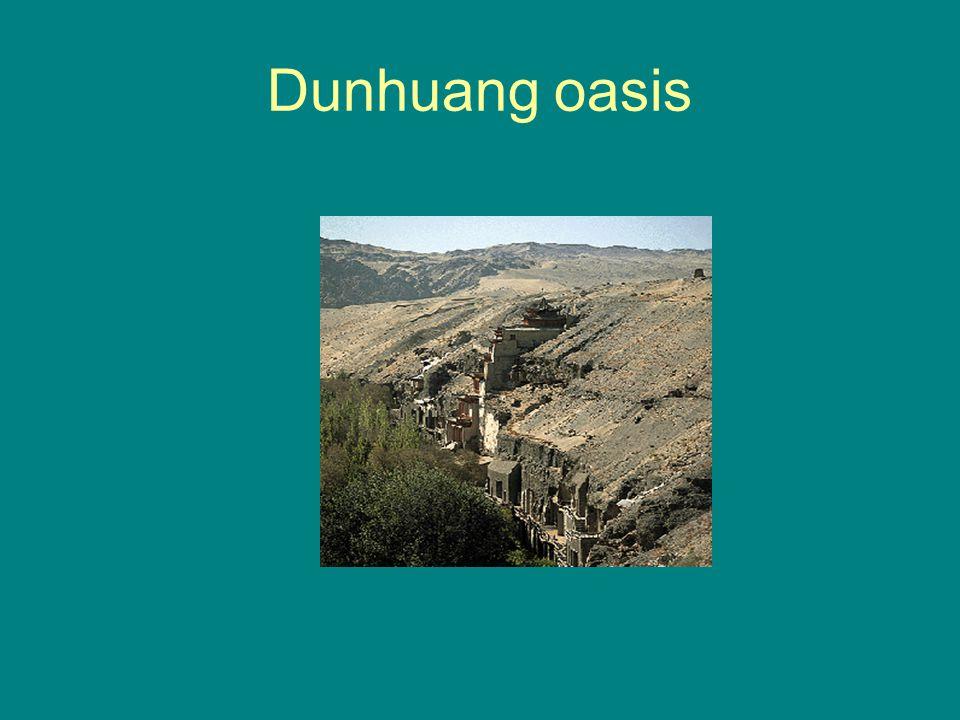 Dunhuang oasis