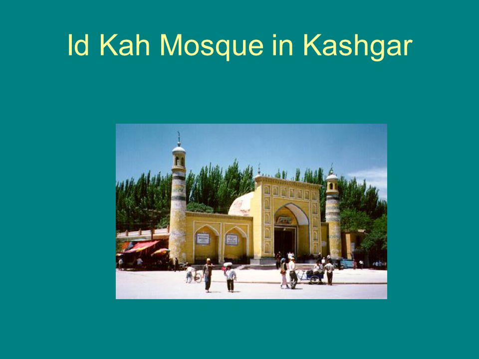 Id Kah Mosque in Kashgar