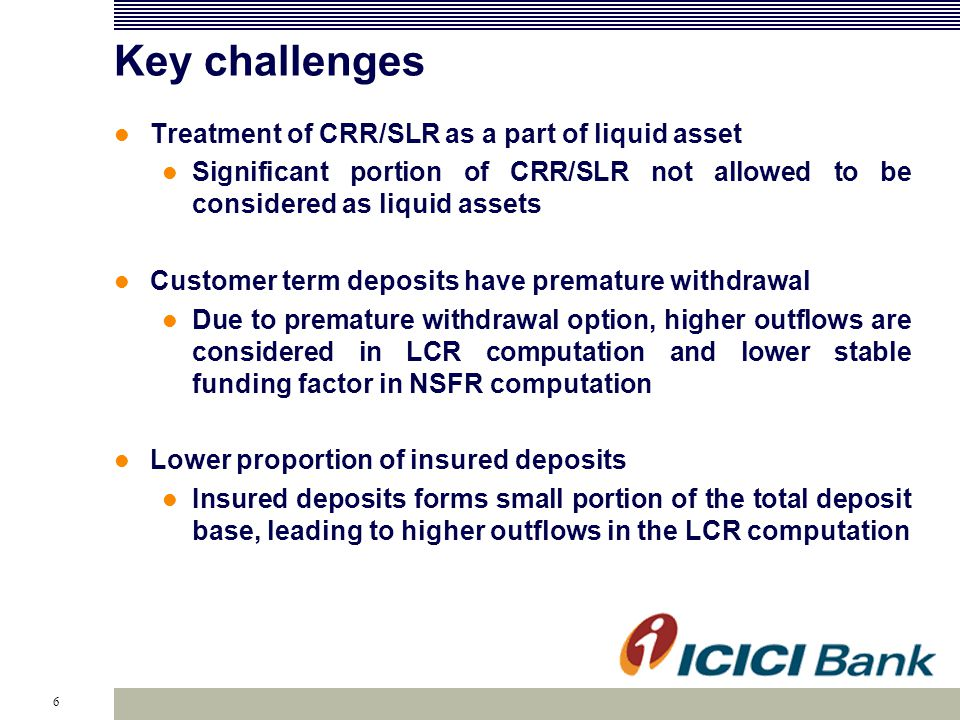 RBI - Liquidity Guidelines Issued on November 7, 2012