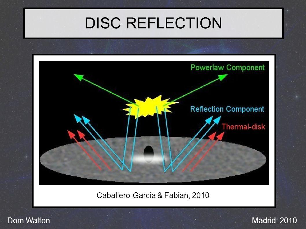 DISC REFLECTION Dom WaltonMadrid: 2010 Caballero-Garcia & Fabian, 2010
