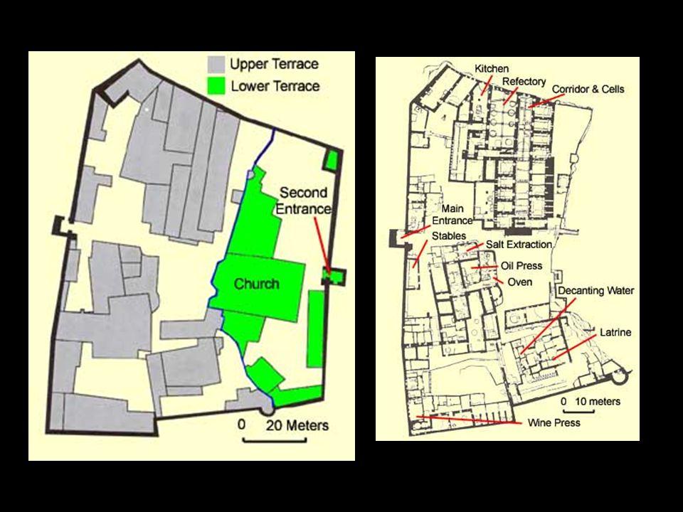 Anba Hatre. Plan of the monastery.