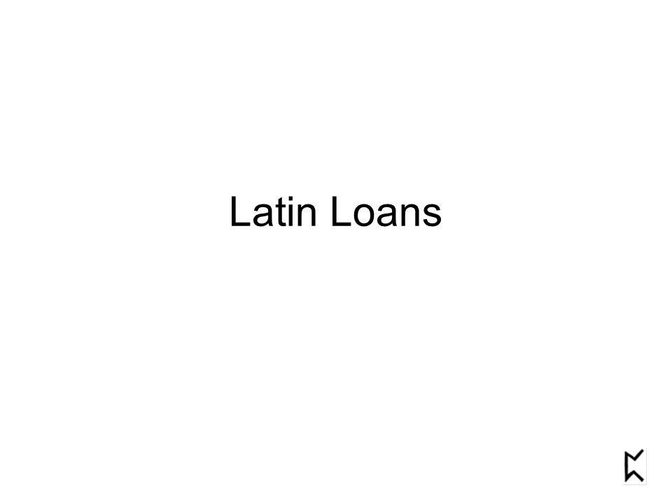 Latin Loans