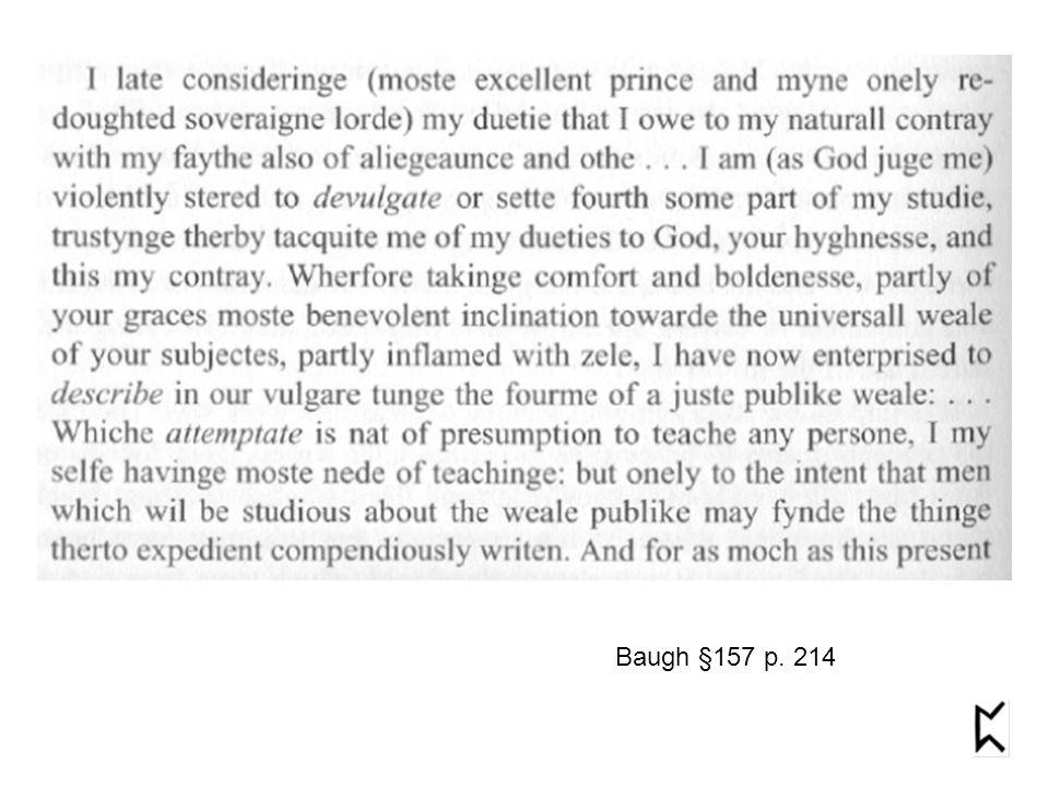 Baugh §157 p. 214